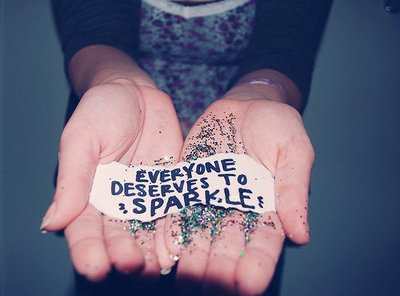 "One.                                                                             "" Cause i see sparksfly whenever you smile ""  ♥."
