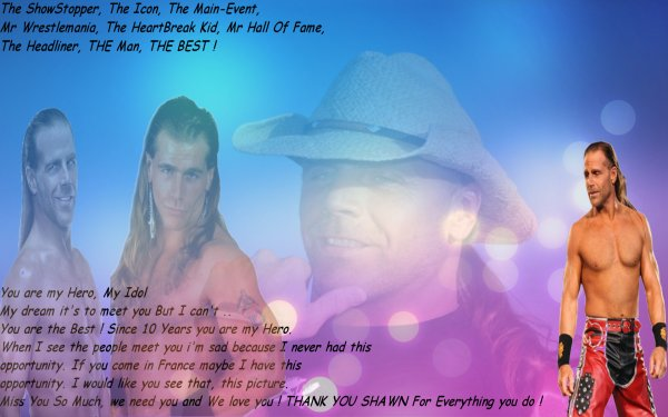 For Shawn Michaels ♥