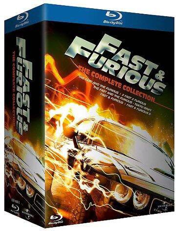 La Pentalogie Fast And Furious : 1-2-3-4-5
