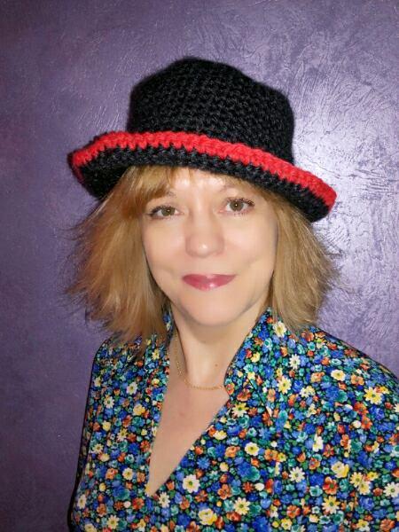 Mon nouveau chapeau au crochet