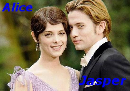 Alice Cullen And Jasper Hale ♥