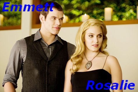 Emmett Cullen And Rosalie Hale ♥