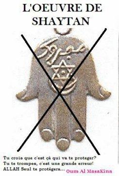 La main de Fatma en Islam