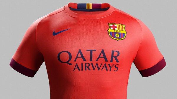 Maillot Extérieur FC Barcelona en solde