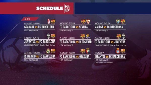 Un mois d'avril électrique pour le FC Barcelone