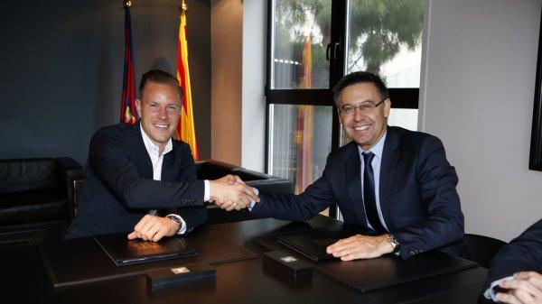 Ter Stegen signe sa prolongation de contrat avec le FC Barcelone