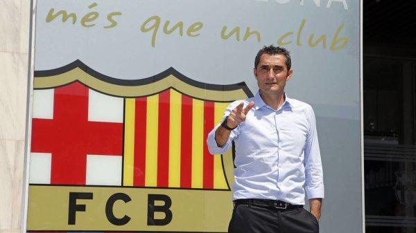 """Ernesto Valverde : """"Rendre le Barça encore plus grand"""""""