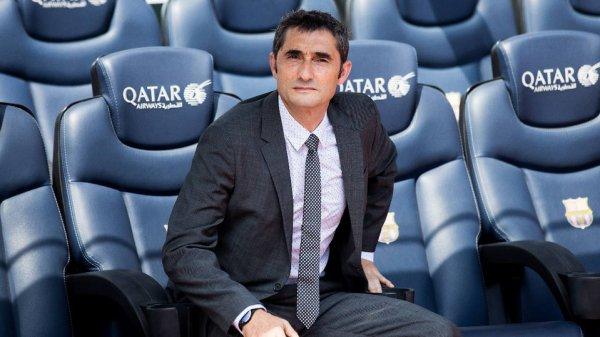 """Ernesto Valverde : """"Entraîner le Barça est mon plus beau défi"""""""