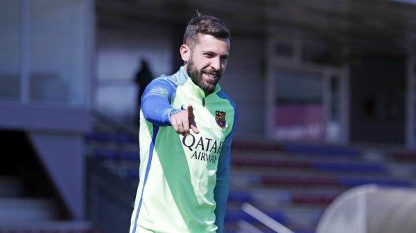 """Jordi Alba : """"Valverde est un entraîneur de caractère"""""""