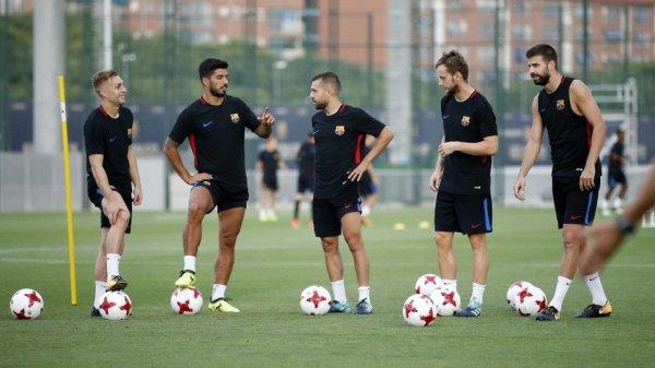 Le groupe du FC Barcelone convoqué pour le match retour de la Supercoupe d'Espagne