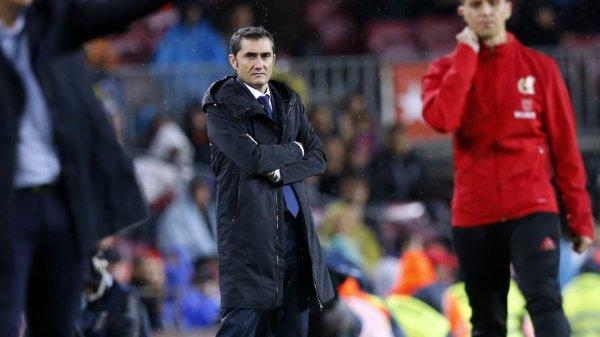 """Ernesto Valverde : """"Sur la bonne voie, mais il reste encore du chemin"""""""