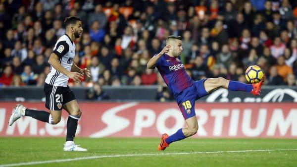 """Jordi Alba : """"Nous méritions mieux"""""""