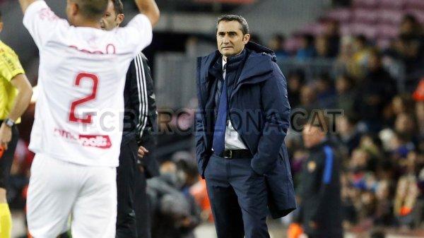 "Ernesto Valverde : ""Une attitude positive"""