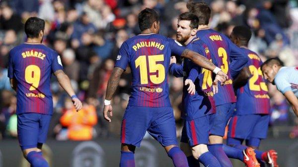 FC Barcelone - Celta Vigo : Le leader méritait mieux (2-2)
