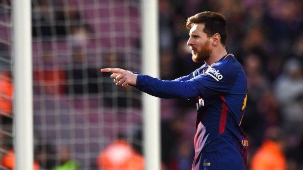 Leo Messi, deuxième du Ballon d'Or 2017