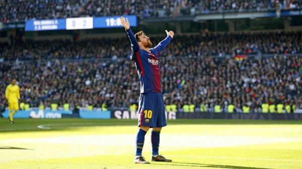 Messi inscrit son 25ème but lors des Clasicos avec le FC Barcelone