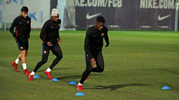Le groupe du FC Barcelone pour aller défier le Celta, avec Dembélé