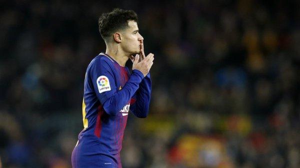 """Coutinho : """"Ravi pour mon 1er but en Liga"""""""