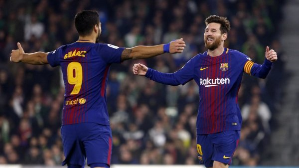 Leo Messi et Luis Suárez, duo prolifique