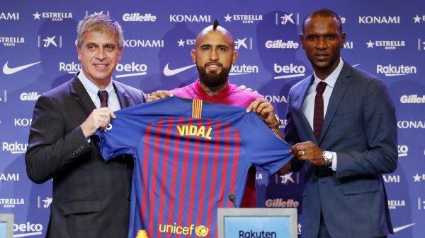 """Arturo Vidal : """"Travailler pour donner du plaisir aux supporteurs du Barça"""""""