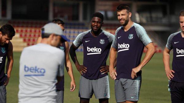 Umtiti, Suarez, Coutinho & Co, de retour à l'entraînement du FC Barcelone