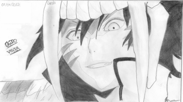 Dessin de Bleach Ggio Vega fraccion de barragan