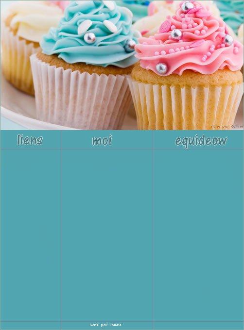 """Fiche 28: """"Cupcakes"""""""