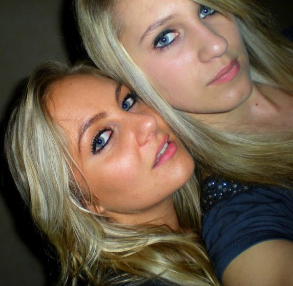 moi et ma soeur ...
