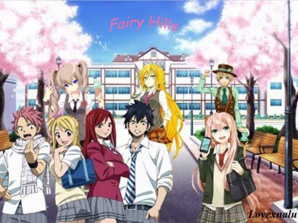 Important, Fairy Hills est ouvert !!