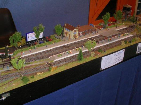 Exposition de Modélisme Ferroviaire de Capdenac-gare le 17 mai 2008