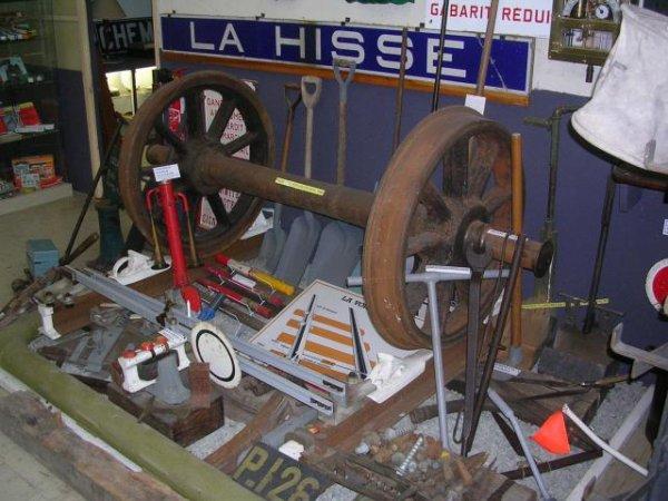 Musée du rail le 5 septembre 2008