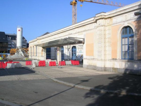 Gare de Saint Malo le 6 septembre 2008