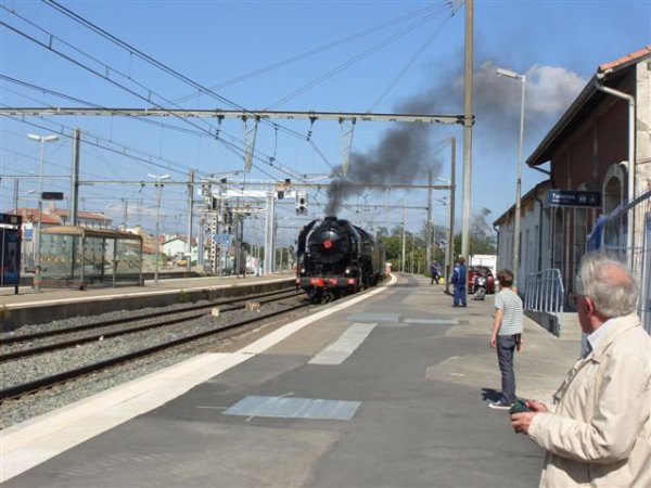 Photos de la 141R1126 à Perpignan (Photos de Franck66)