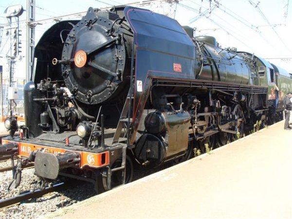 Photos de la 141R1126 à Perpignan (Photos de Franck66)