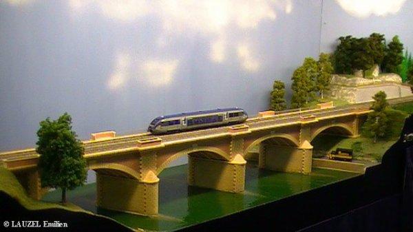 Salon du train et du modélisme à Vierzon du 5 au 8 Mai 2012