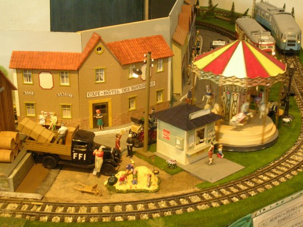 1ère Exposition - Bourse du Club de Modélisme Ferroviaire de Coutras le 14 Novembre 2015