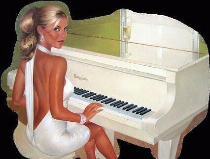 un piano sous tes doigts,une guitare à la main,tu donnes sans compter,les notes qui inondent,les oreilles bouchées,de la foule qui gronde,qui tape dans ses mains,sans y comprendre rien.Mais tous ses inconnus,qui croisent ton destin,t'imposent leurs désirs,leurs envies furibondes,et tu devras ainsi,construire un autre monde,et chaque jour nouveau,bâtir des lendemains.car tu t'es engagé,dans la vente de rêves,mais quand coule le temps ,la demande s'élève.Chaque jour un peu plus,toujours encore, plus noir.La vie qui continue,d'un calme satanique emporte sur sa voie,ton immense pouvoir,Mais au bout du couloir,il reste ta musique.<3<3