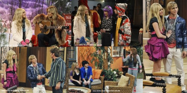 Voici quelques stills de l'épisode 5 de Hannah Montana Forever : « it's the end of the Jake as we know it » .