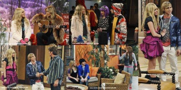 Voici quelques stills de l'épisode 5 de Hannah Montana Forever : « it's the end of the Jake as we know it » .