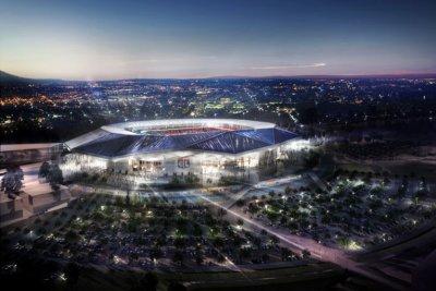 Le Groupe Vinci Retenu Pour La Construction Du Stade Des Lumières.