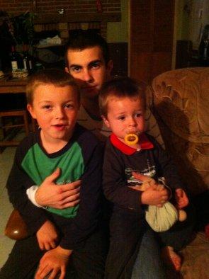 Les 3 cousins à Kylian