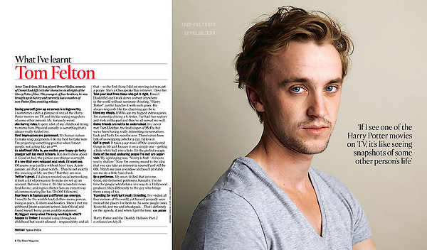 """- Juillet 2011: Tom a réalisé un photoshoot et un entretien (interview écrite) avec le Time Magazine. Ce n'est qu'en Septembre qu'on a enfin les photos sans tagues, et l'interview au """"complet"""". Tom est ravissant. -"""