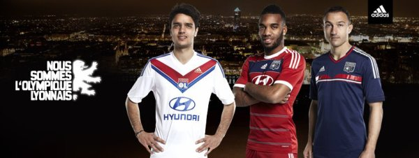 Maillot Home/Away/Third 2013/2014 Olympique Lyonnais