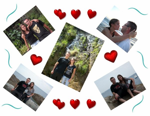 Montage de photos de vacances