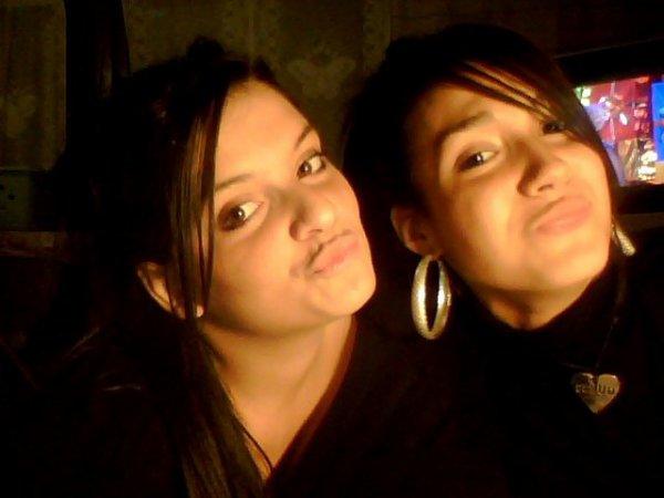 La belle soeur et moii