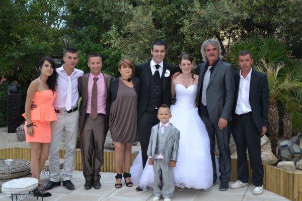 La petite famille que j'aimme Au mariage