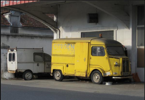 Citroen HY service et 2CV AKL by epaves68