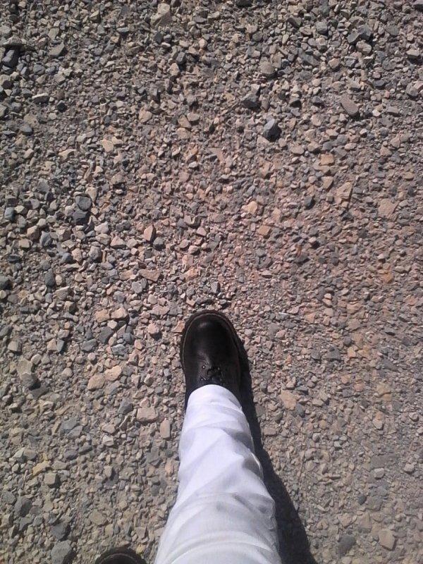 Un kilomètre a pieds ça use ça use... Hein Ready ??? Mdr avec celles ci ok, pas les autres...