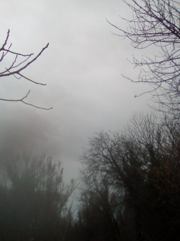 Groos orage chez la Sorcière... Ça tonne !! Y fait tout noiiir !! Brrrr !!!