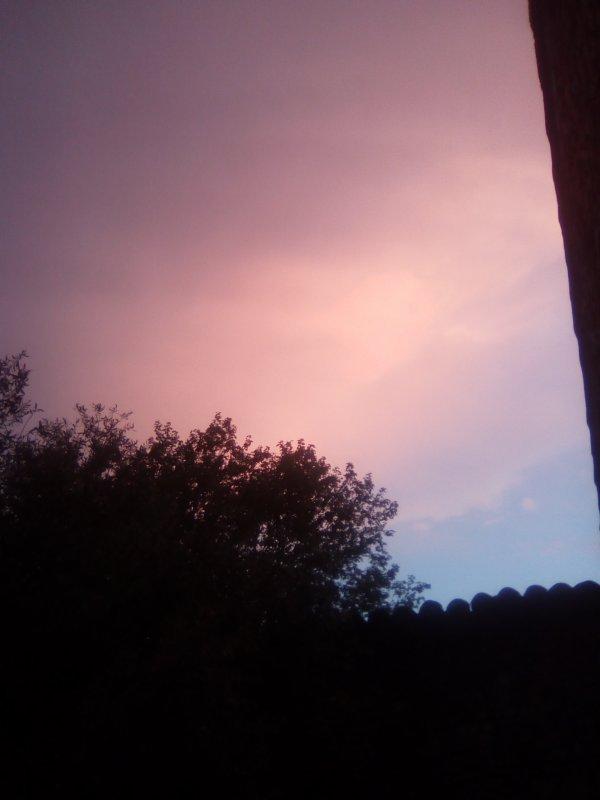Mon ciel ce soir...